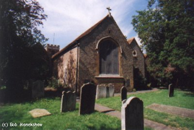 Fig 4 - Rear of St Mary with St Alban Church