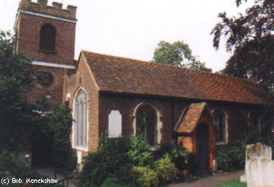 Fig 3- Front of St Mary with St Alban Church