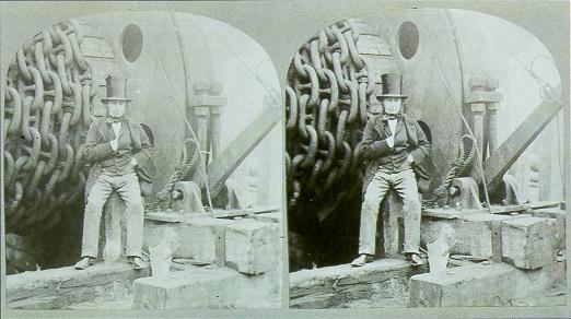 Figure 2 - Isambard Kingdom Brunel by Howlett